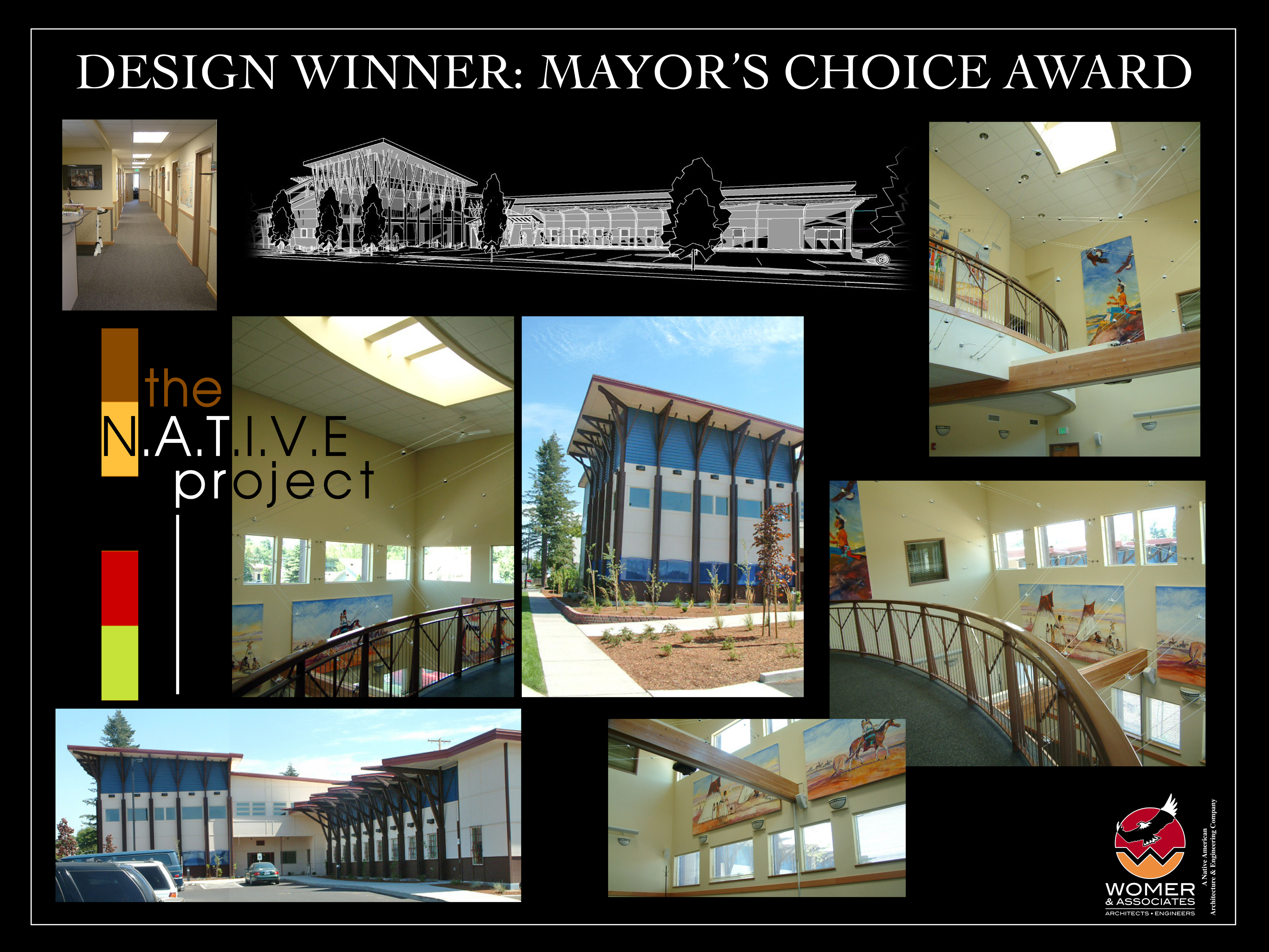 The NATIVE Project Wins Mayors Choice Award